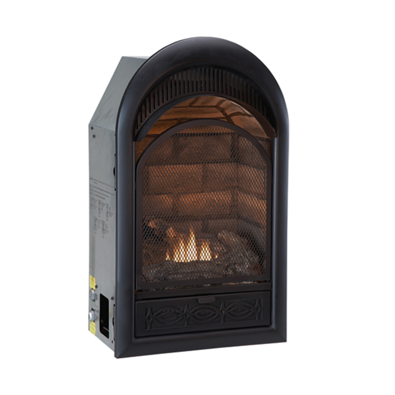 Ventless Dual Fuel Fireplace Insert 10 000 Btu Procom