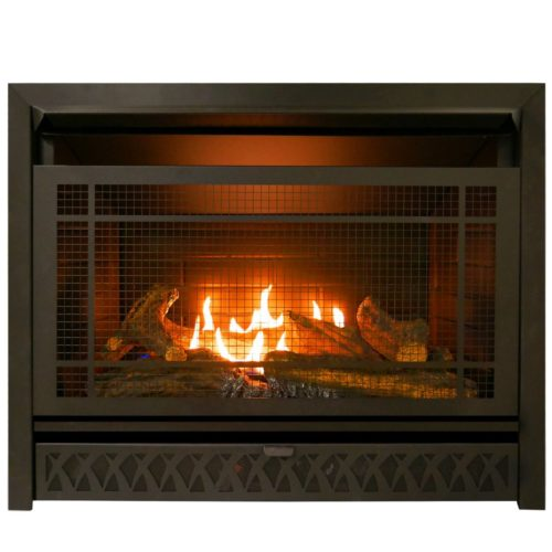 Fireplace Doesnt Heat: Gas Fireplace Insert Dual Fuel Technology