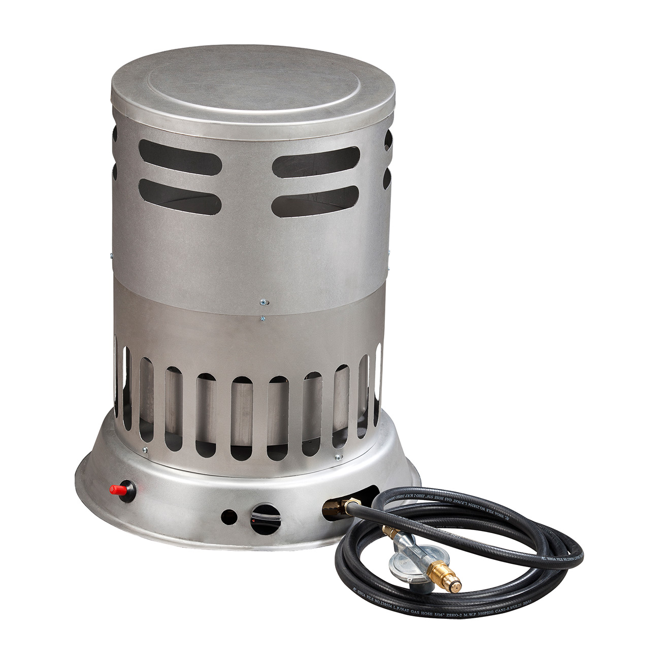 Portable propane convection heater 80 000 btu procom for Best propane heating systems