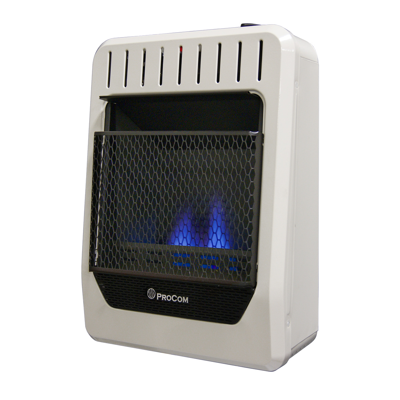 Ventless Natural Gas Blue Flame Manual Control Wall Heater