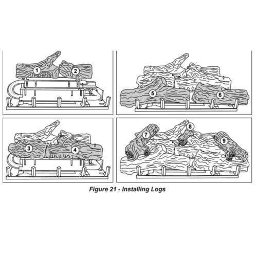 FBD32RT Log Parts - ProCom Heating