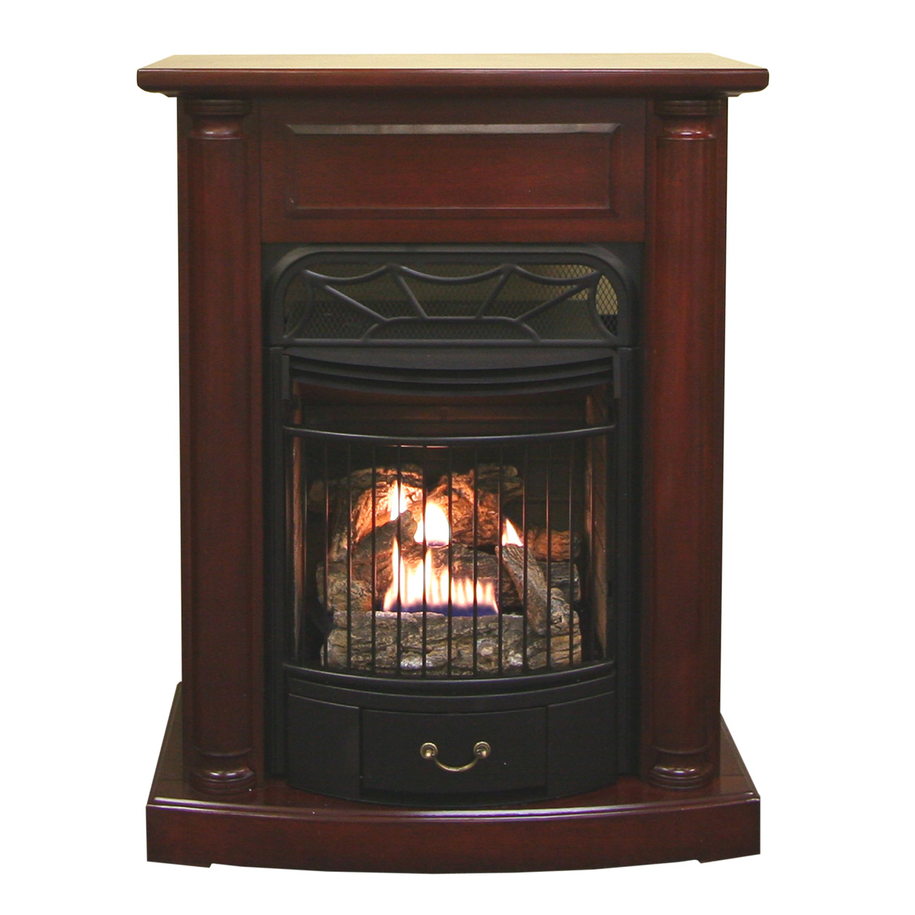 Fireplace Doesnt Heat: Ventless Fireplace Model# EDP200T-O