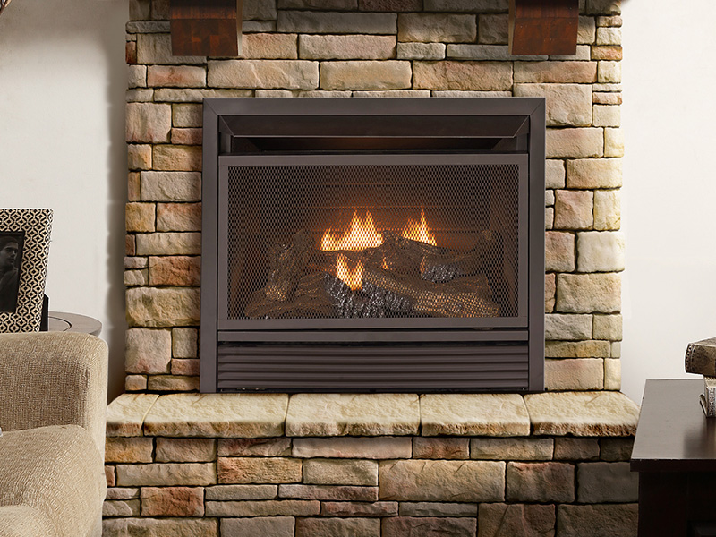 ProCom Heating Fireplace Insert