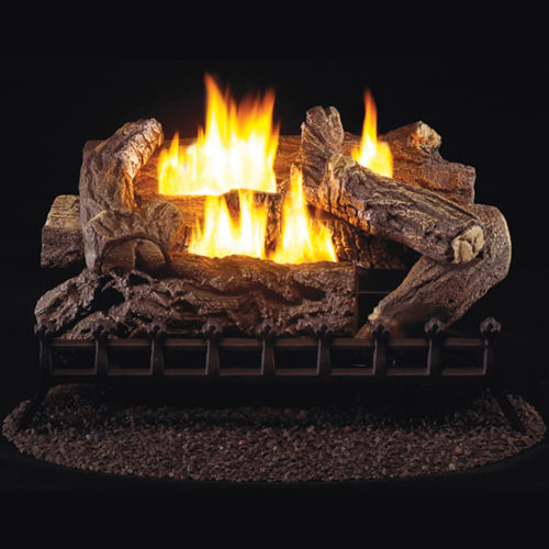 30 Quot Ventless Natural Gas Log Set 40 000 Btu Procom Heating