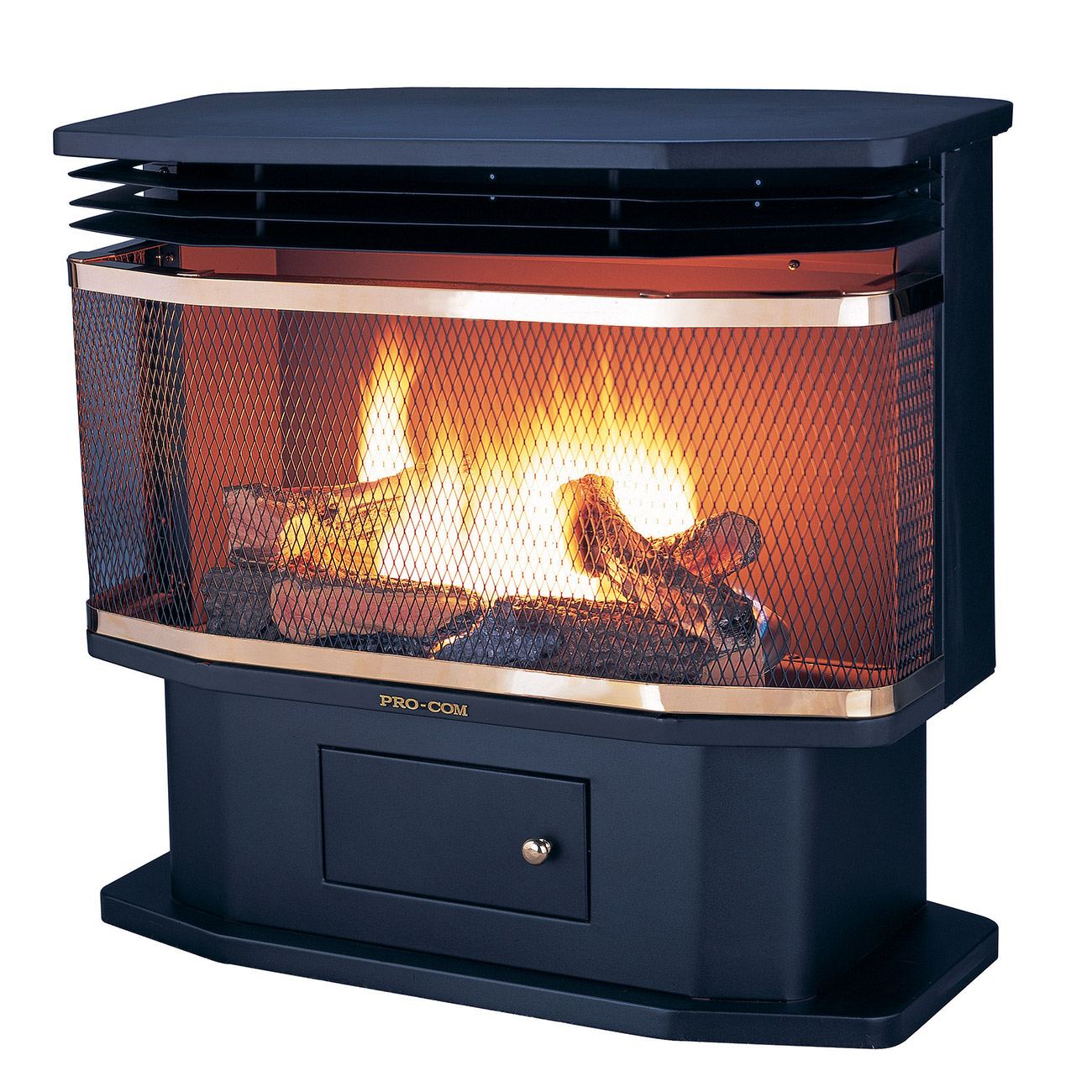 Ventless pedestal gas stove model sn400tyla series for Best propane heating systems