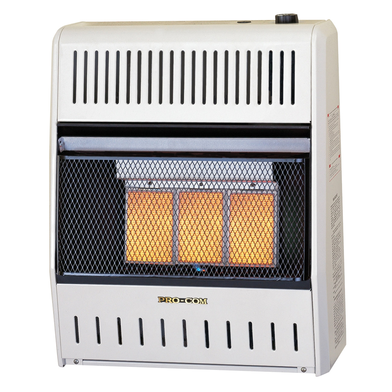 Dual Fuel Ventless Infrared Heater Wall Heater 20 000